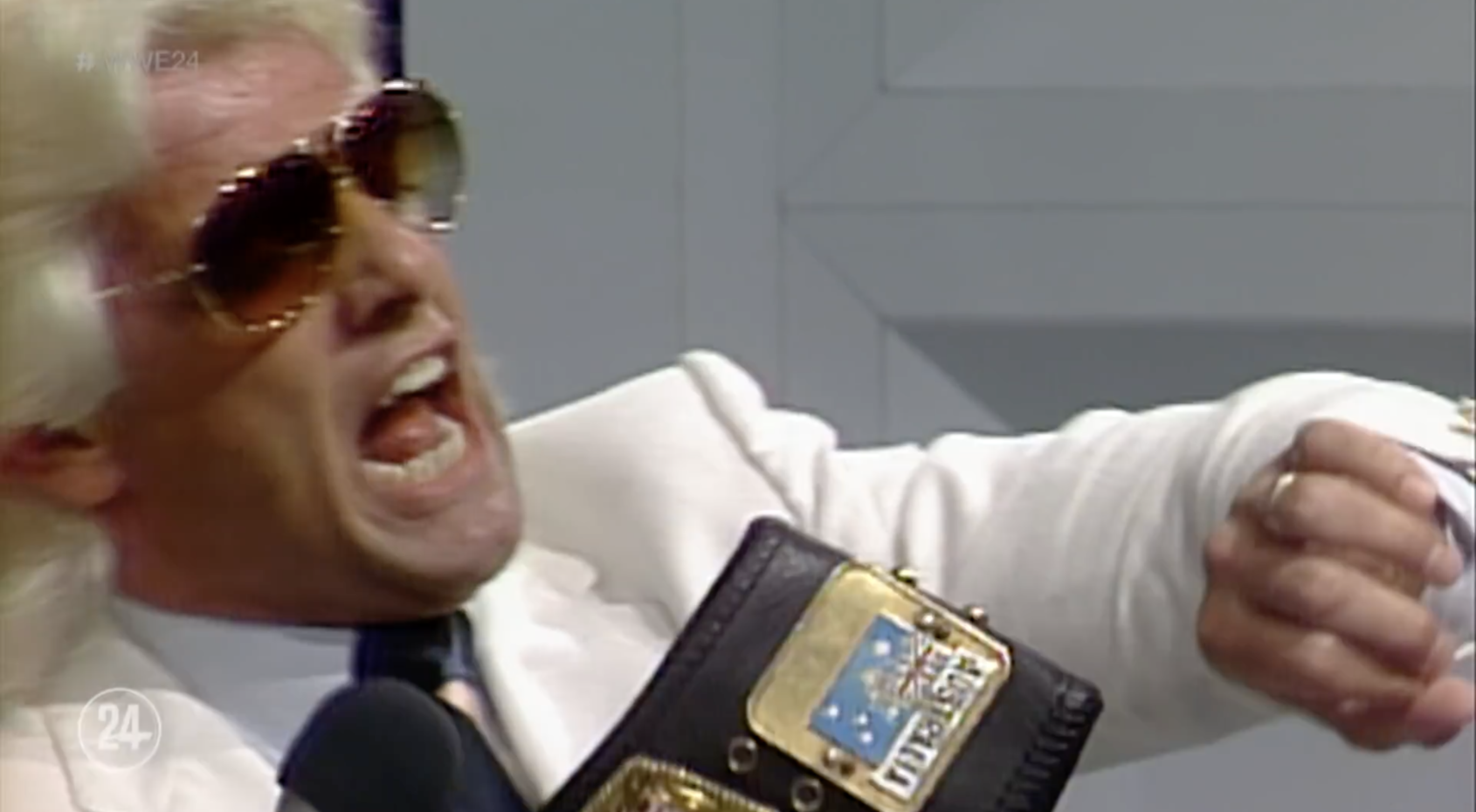 Wrestling legend Ric Flair reflects on all the times he lost his Rolex watches (including in a bowl of spaghetti)