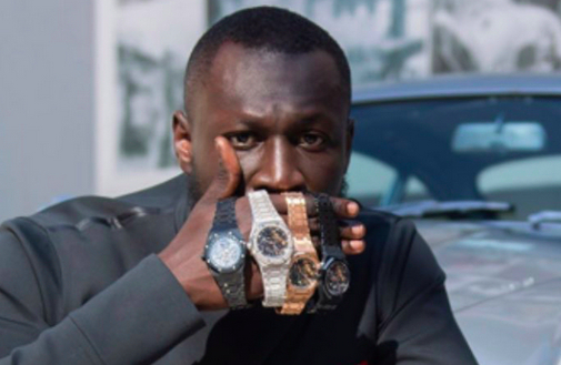 British MCs Stormzy and Dave are crazy for Audemars Piguet