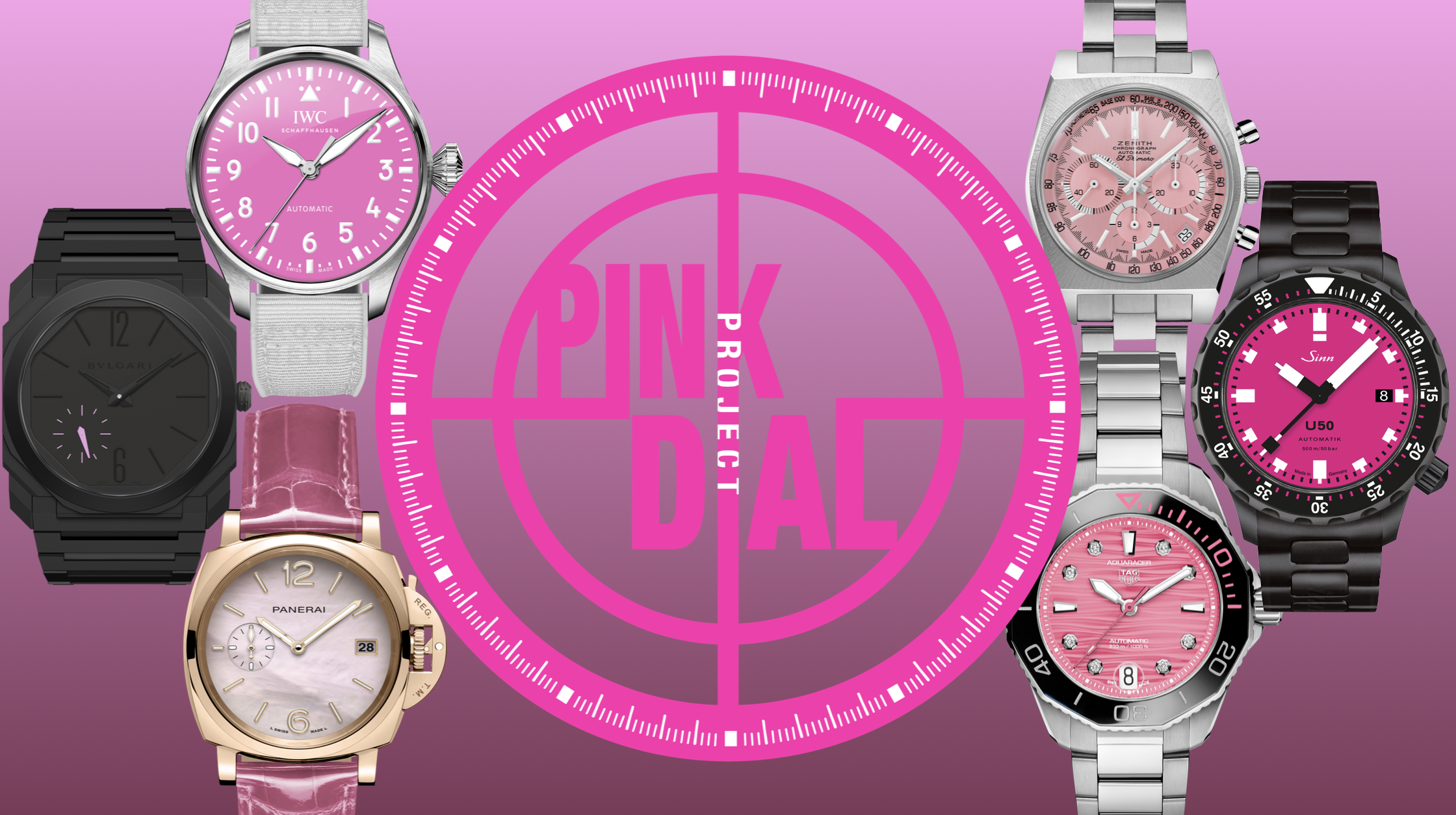 Announcing the 'Pink Dial Project' – an auction of pink prototypes in aid of breast cancer