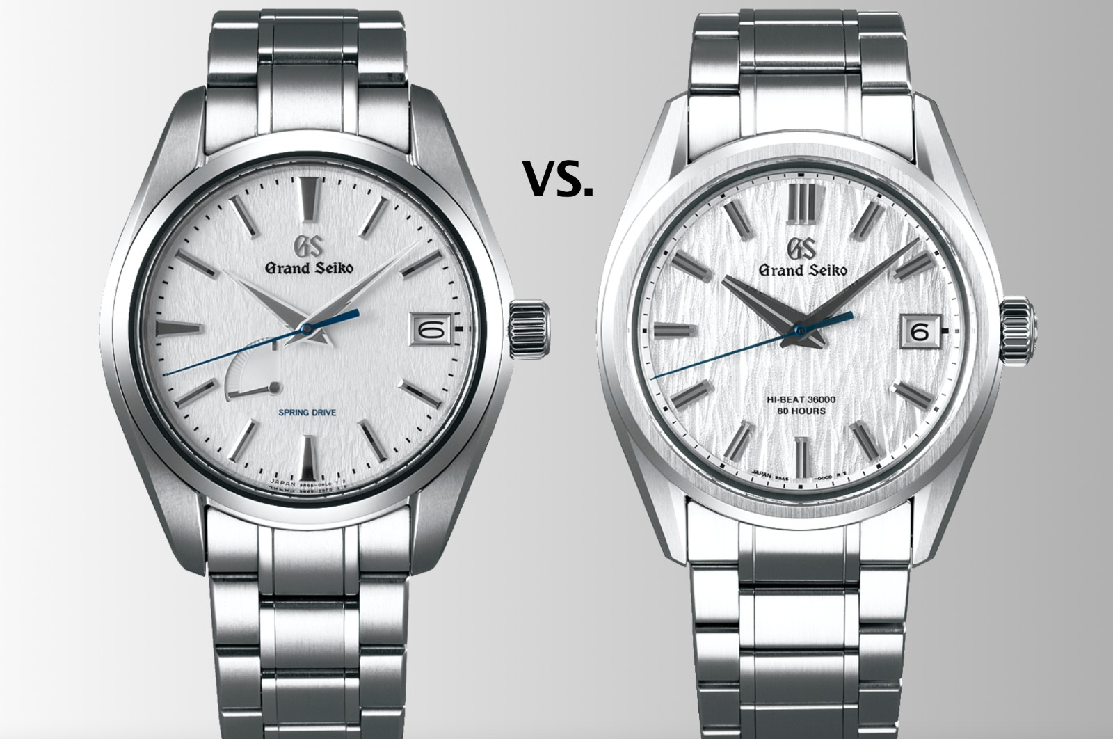 Grand Seiko Snowflake versus White Birch: the battle between the classic and contender