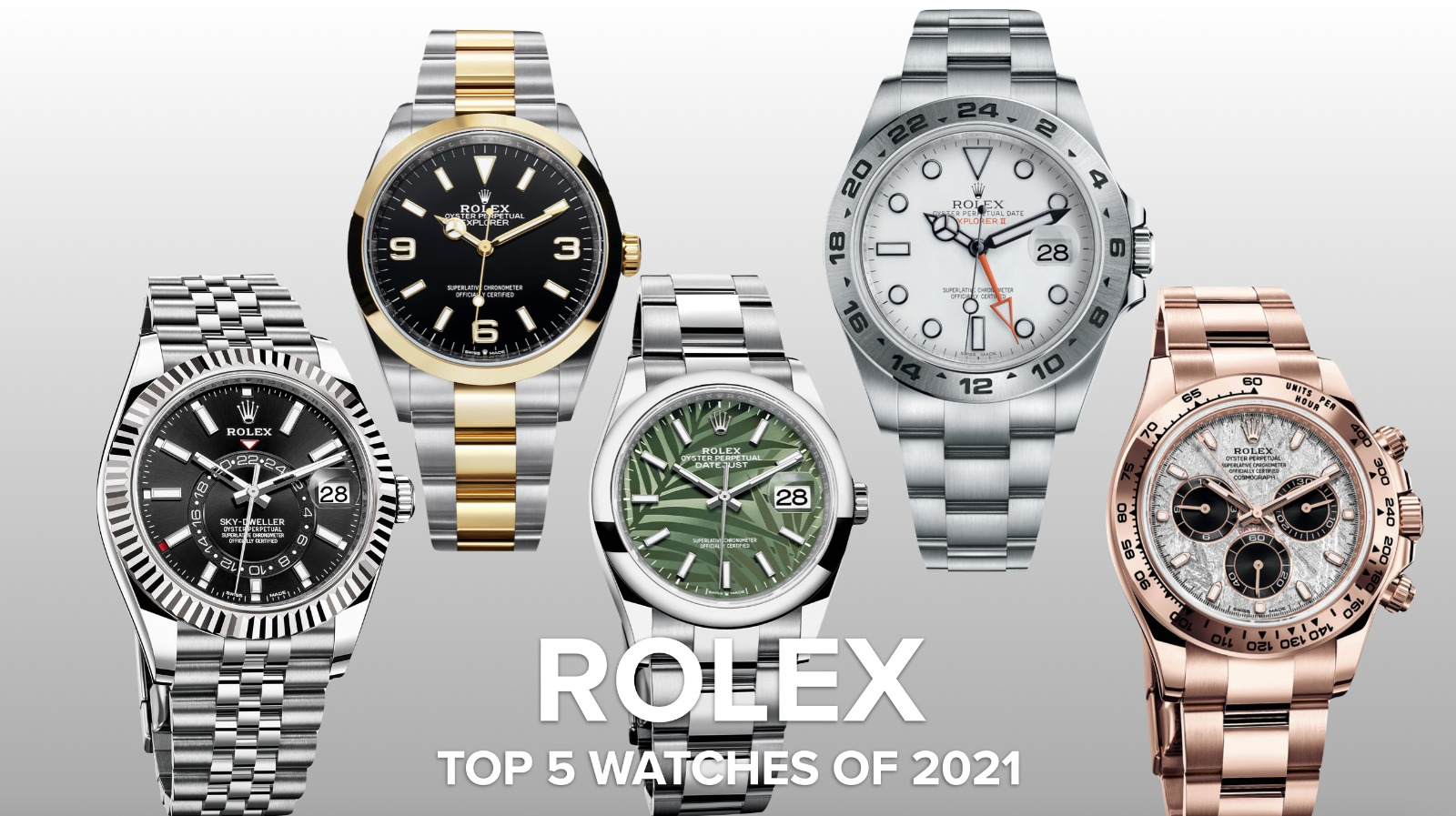Supercollector Eric Ku responds to the 5 key 2021 Rolex releases in this candid video