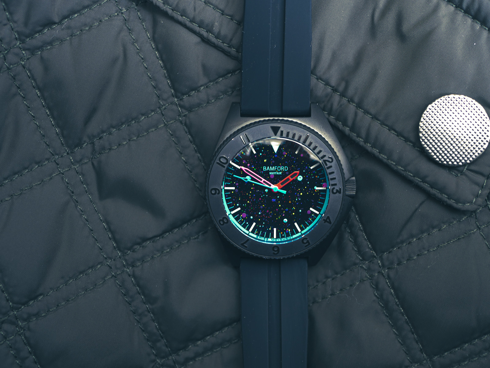 INTRODUCING: An exclusive space odyssey with the Dial Artist x Bamford Cosmic Rainbow.