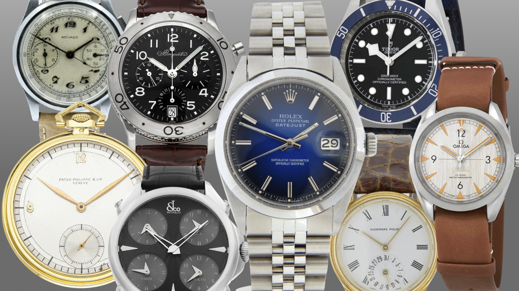 8 affordable watches on eBay right now for under $5k, including Patek Philippe and Jacob & Co