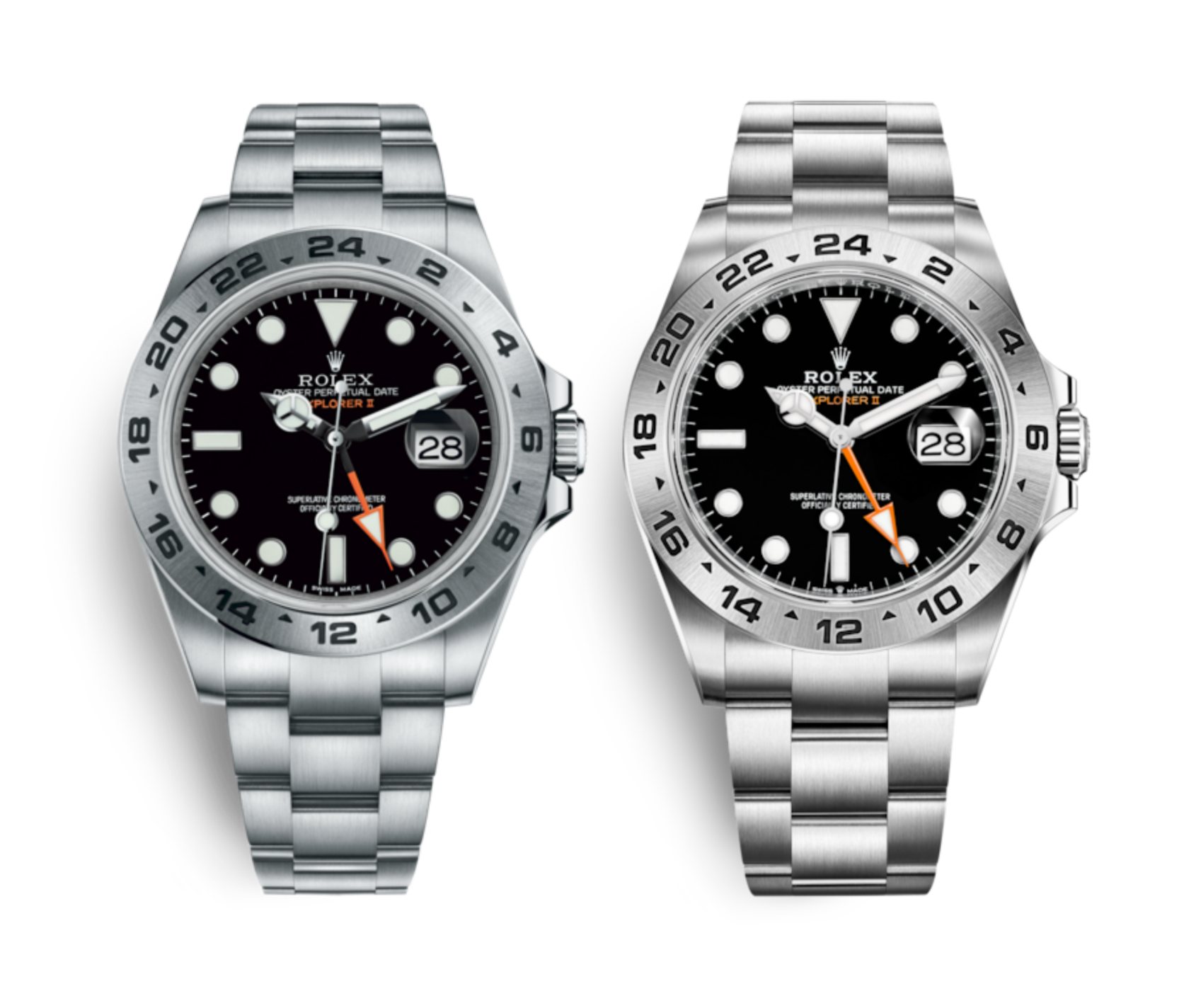 The small change that makes a BIG difference to the new Rolex Explorer II 226570