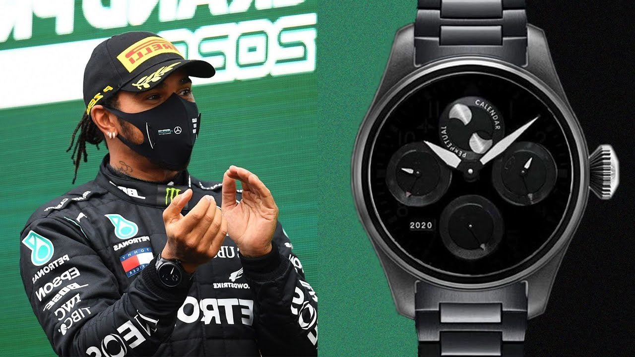 The untold story behind Lewis Hamilton's one-of-one Black Lives Matter IWC Big Pilot