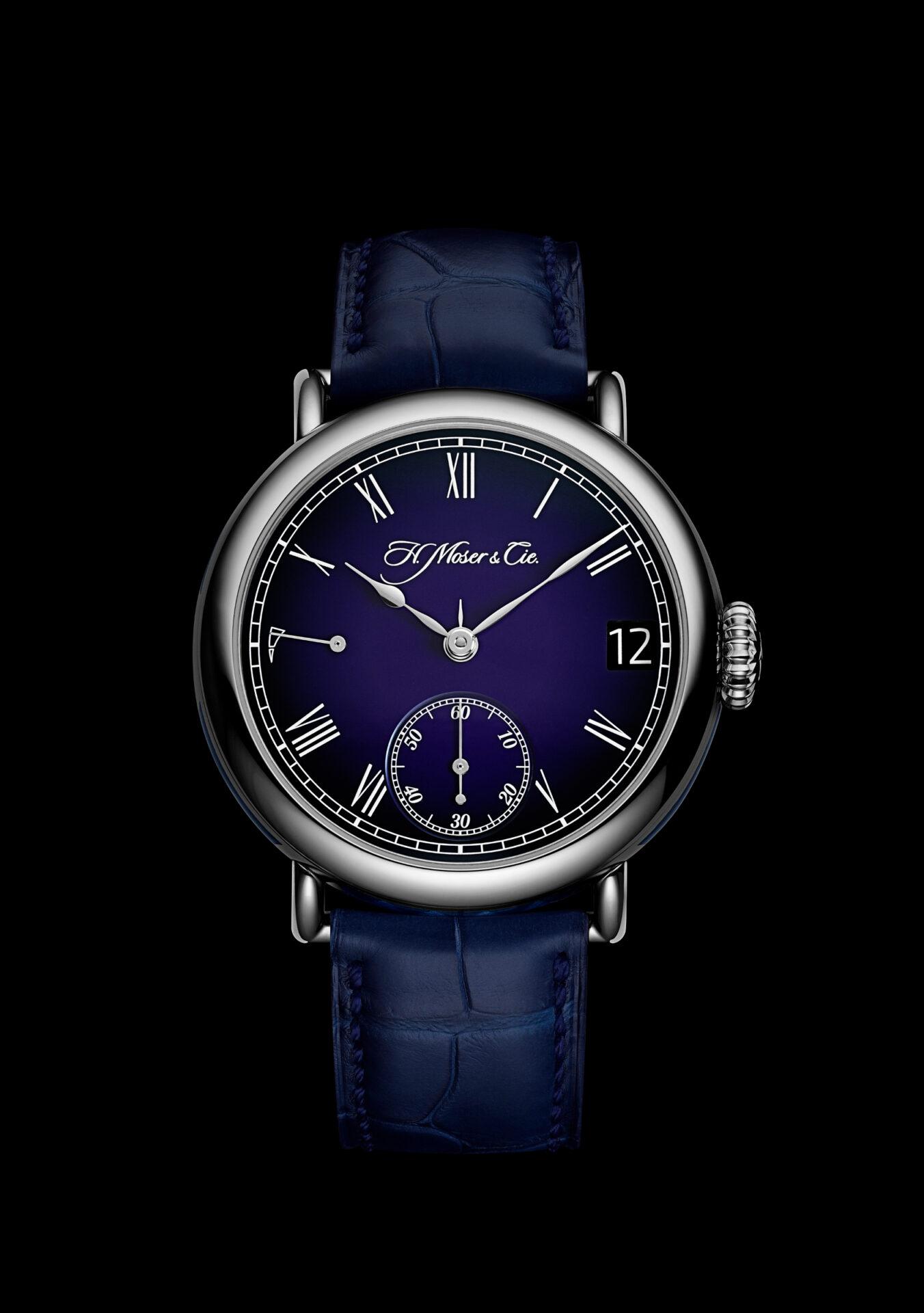 INTRODUCING: The H. Moser & Cie. Heritage Perpetual Calendar Midnight Blue Enamel