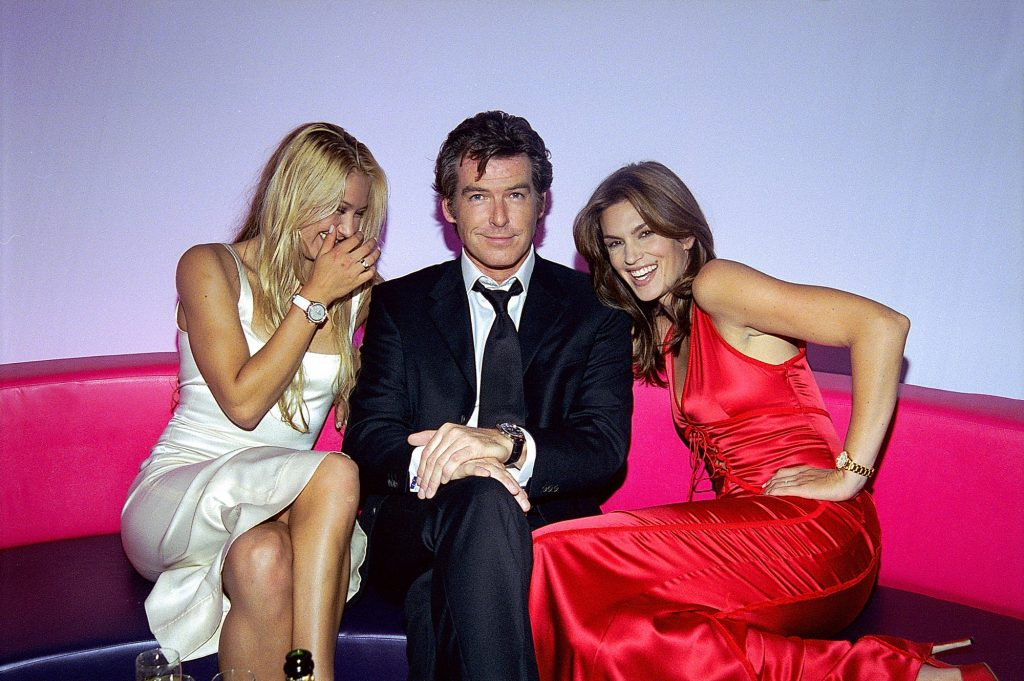 Pierce Brosnan really loves a dress watch and is fed up of Bond