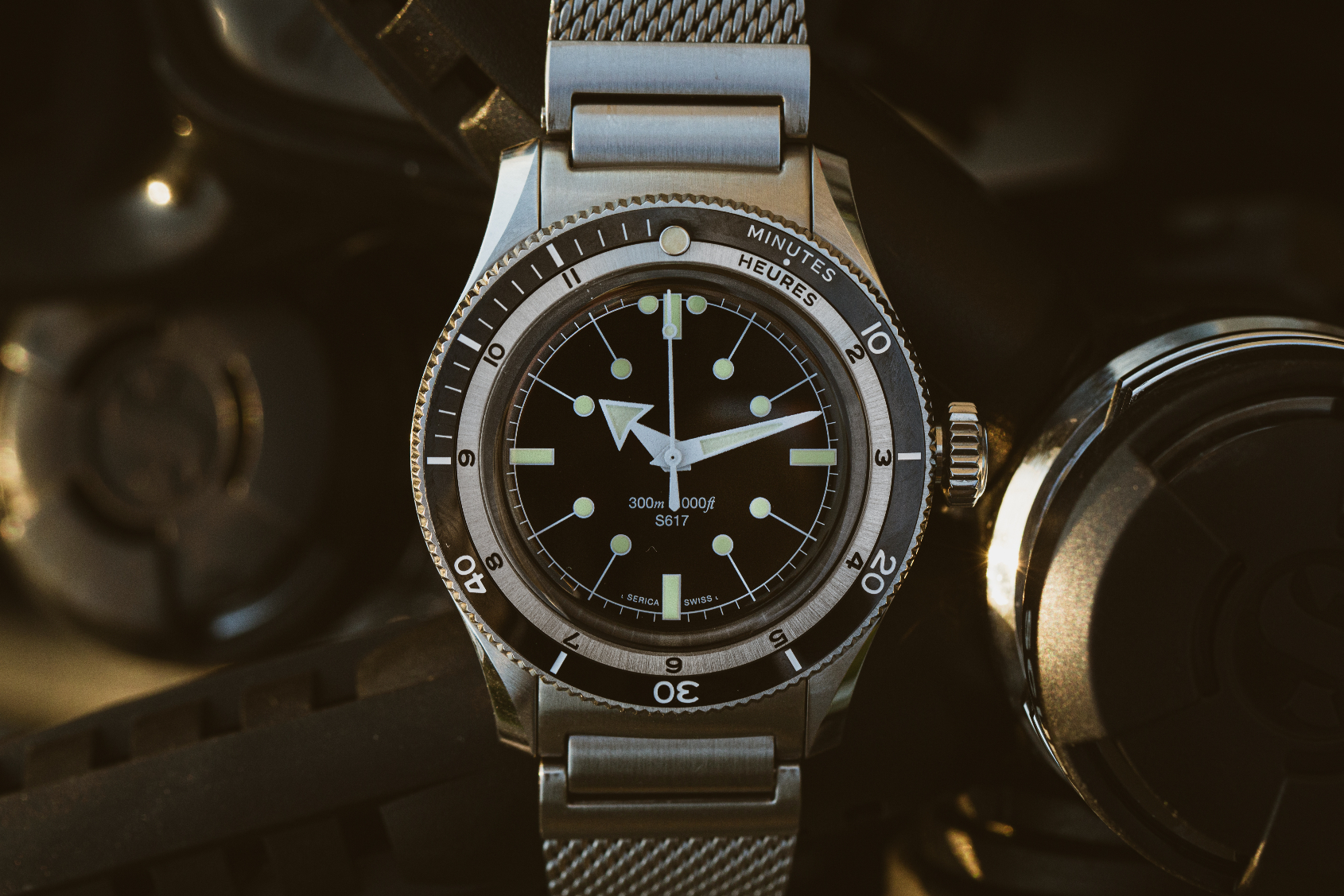 INTRODUCING: The new Serica 5303, a time-travelling tool watch with a French twist
