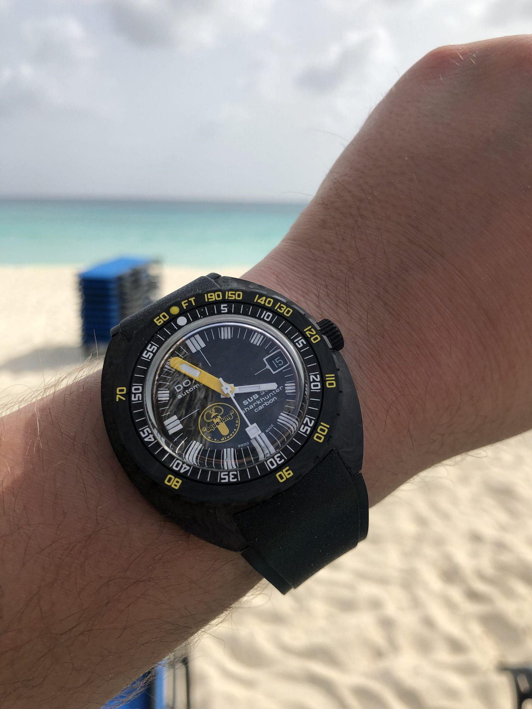 Why the DOXA SUB 300 was the perfect one watch for me to take on vacation