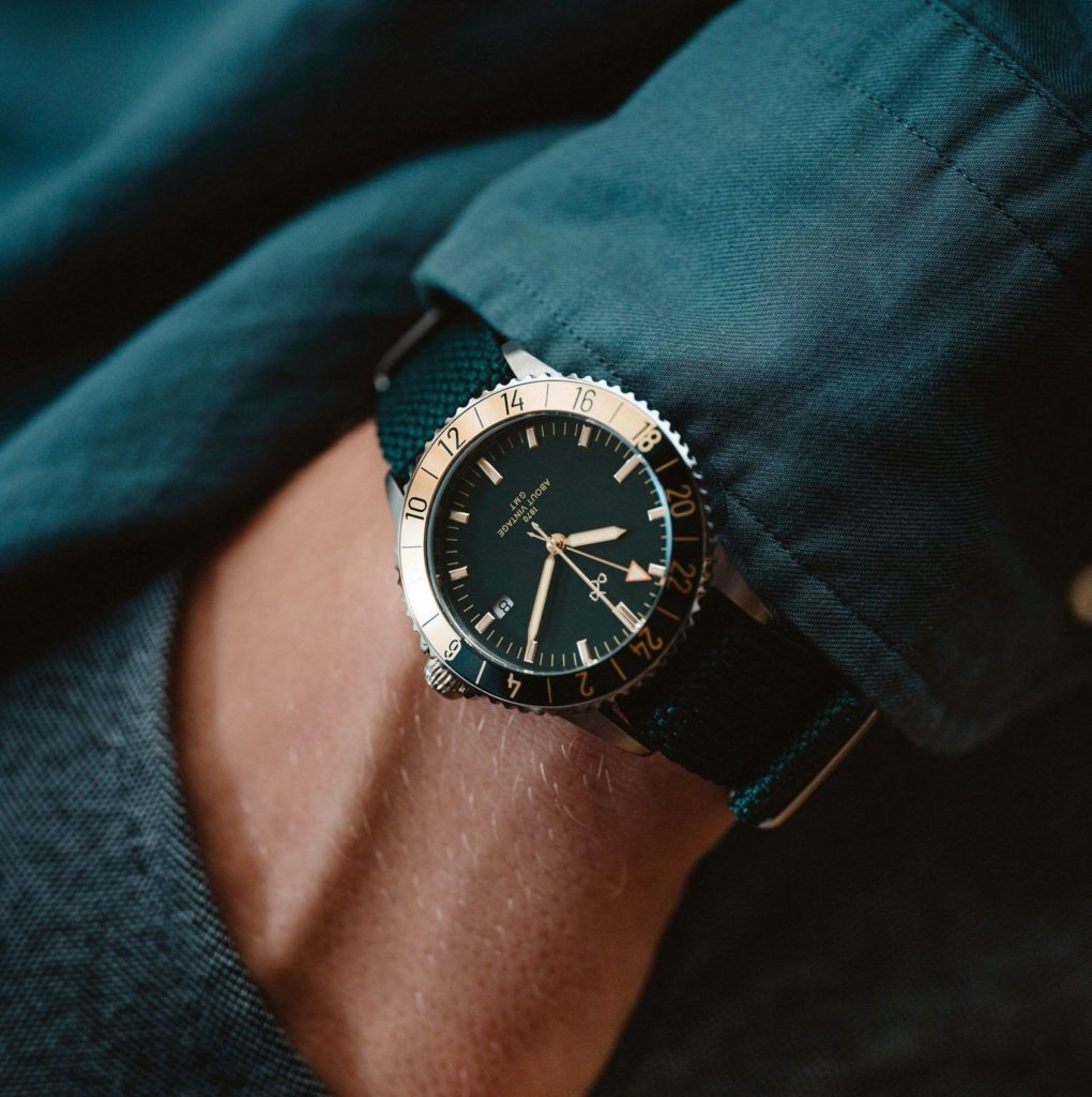 MICRO MONDAYS: Go green with the About Vintage x Kristian Haagen 1970 GMT