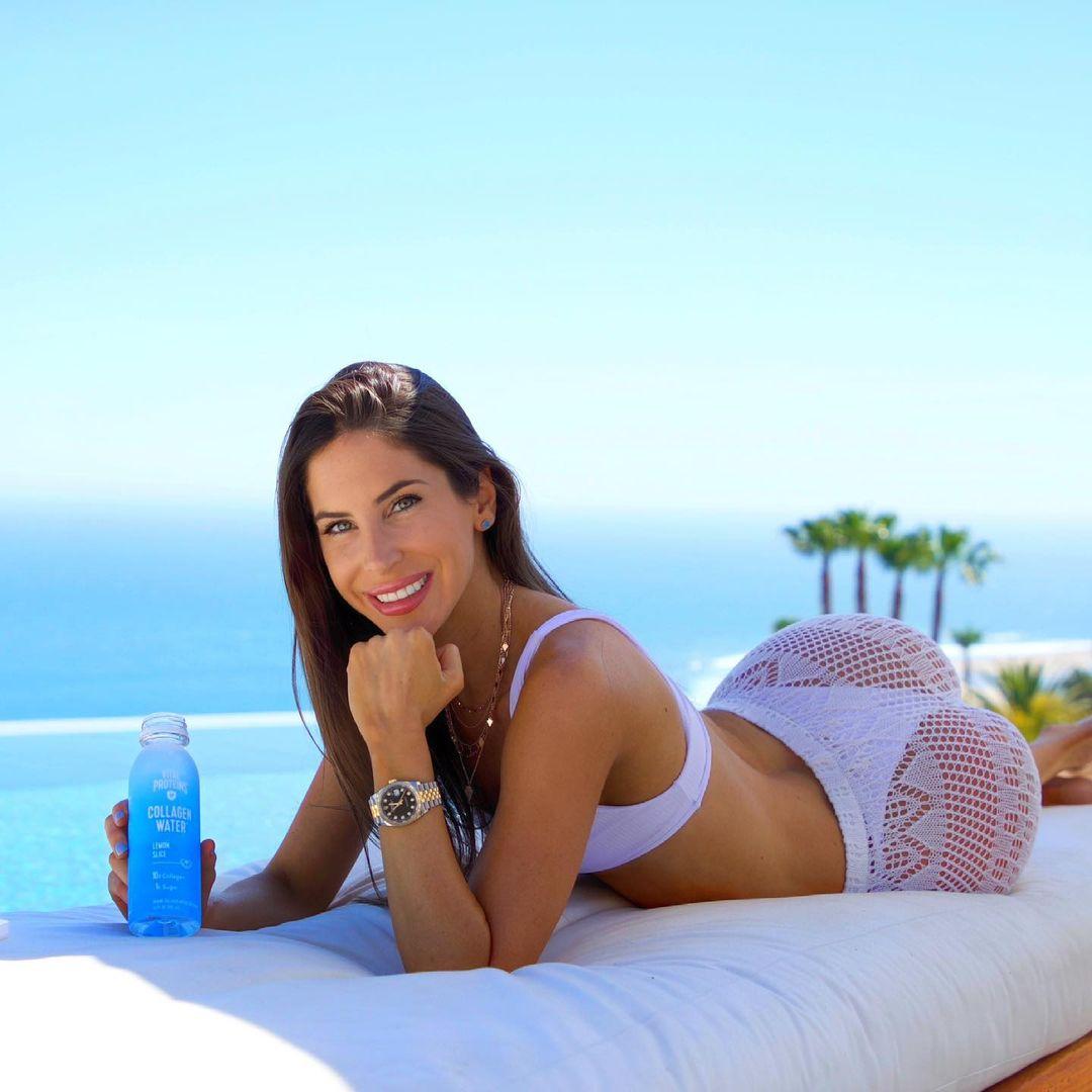 Fitness model Jen Selter understands the robust elegance of a Rolex Datejust