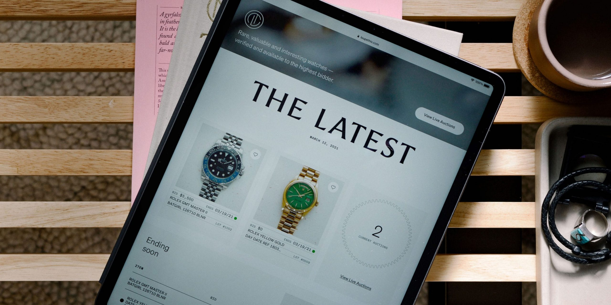 Introducing Loupe This, a highly evolved online watch auction platform for buyers and sellers