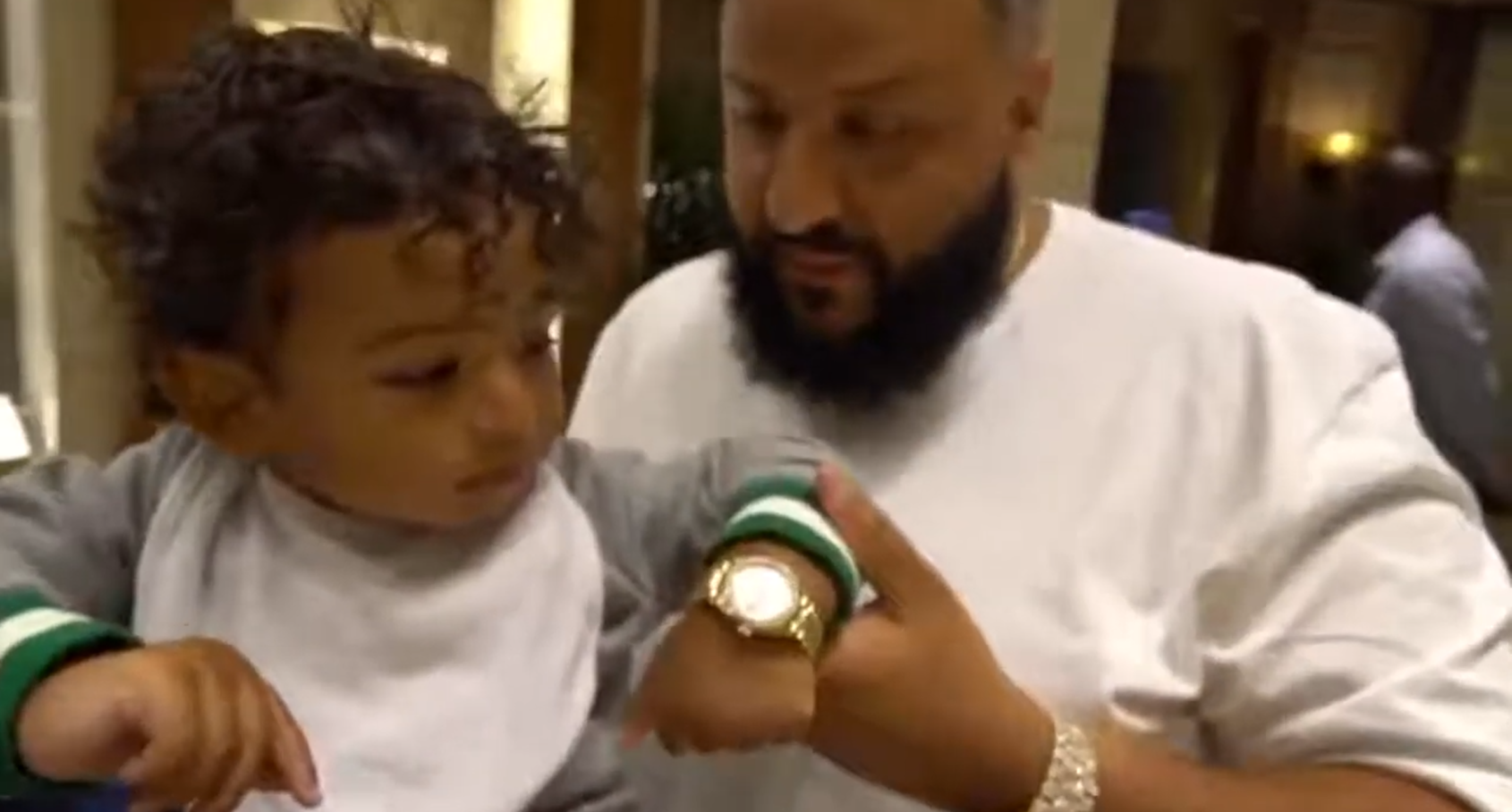Ice, ice baby: famous kids wearing ludicrously expensive watches