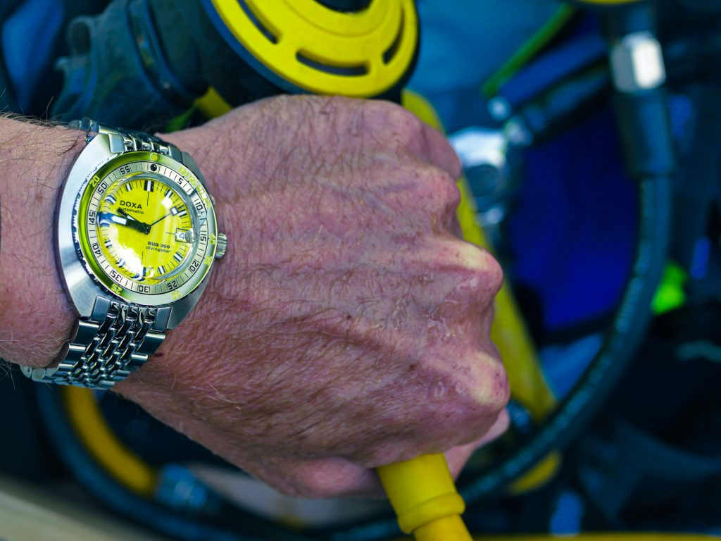 A Week On The Wrist: How the DOXA Sub 300 Divingstar inspired me to buy SCUBA gear