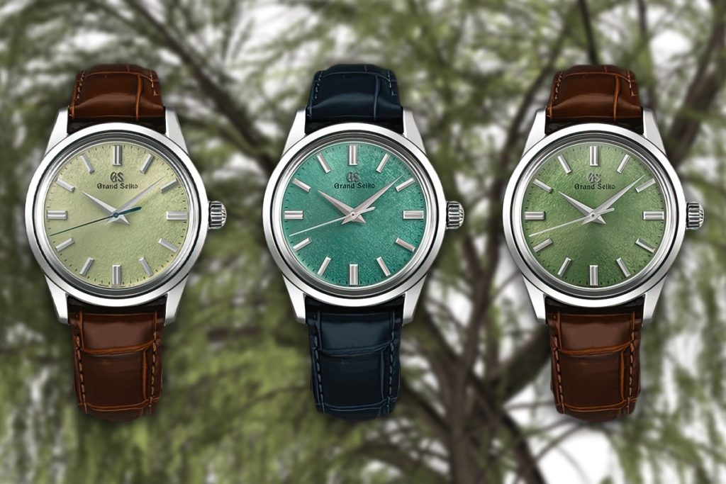 Introducing: Grand Seiko's time only trio of limited edition green machines