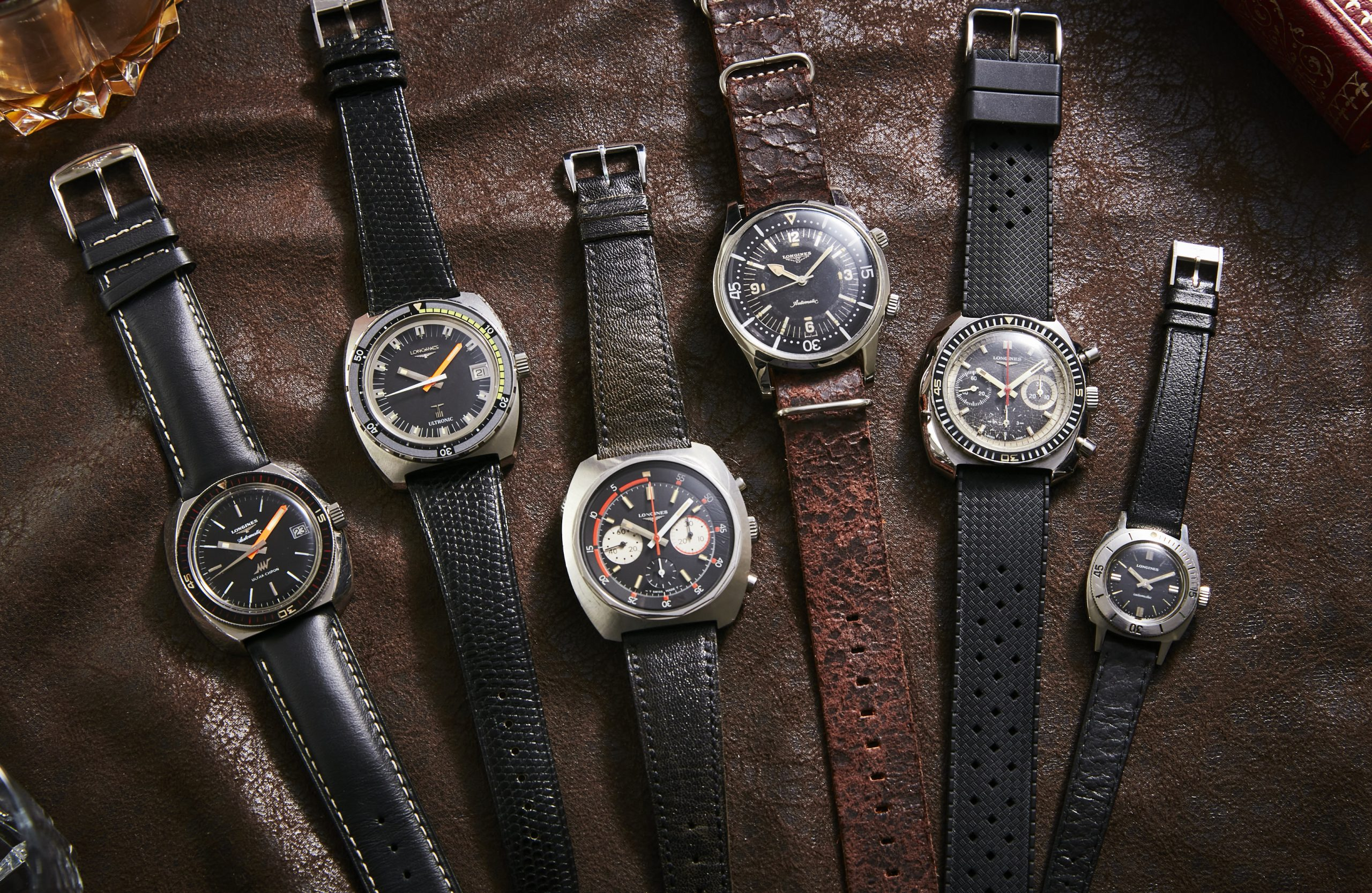6 watches that tell the history of Longines dive watches in the '60s and '70s