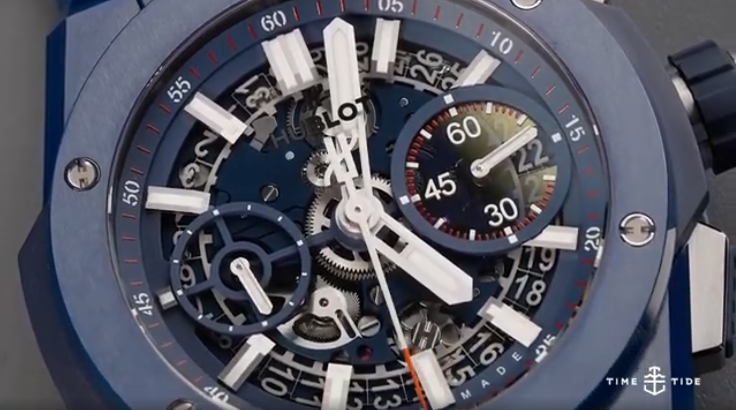 IN-DEPTH: The Hublot Big Bang Integral Blue Ceramic shows the evolution of the sports watch