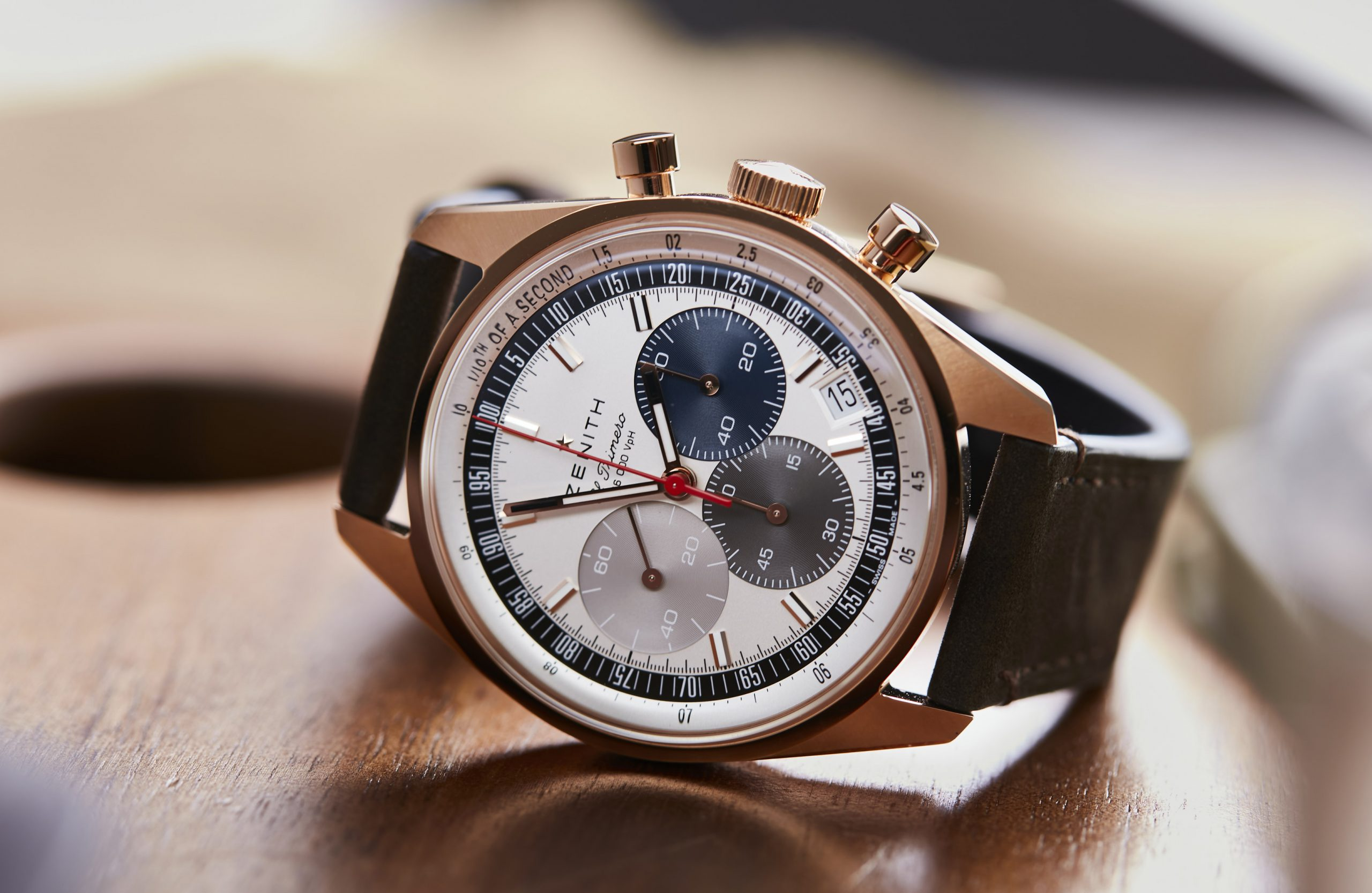 HANDS-ON: The Zenith Chronomaster Original Collection offers vintage perfection on a 38mm dial