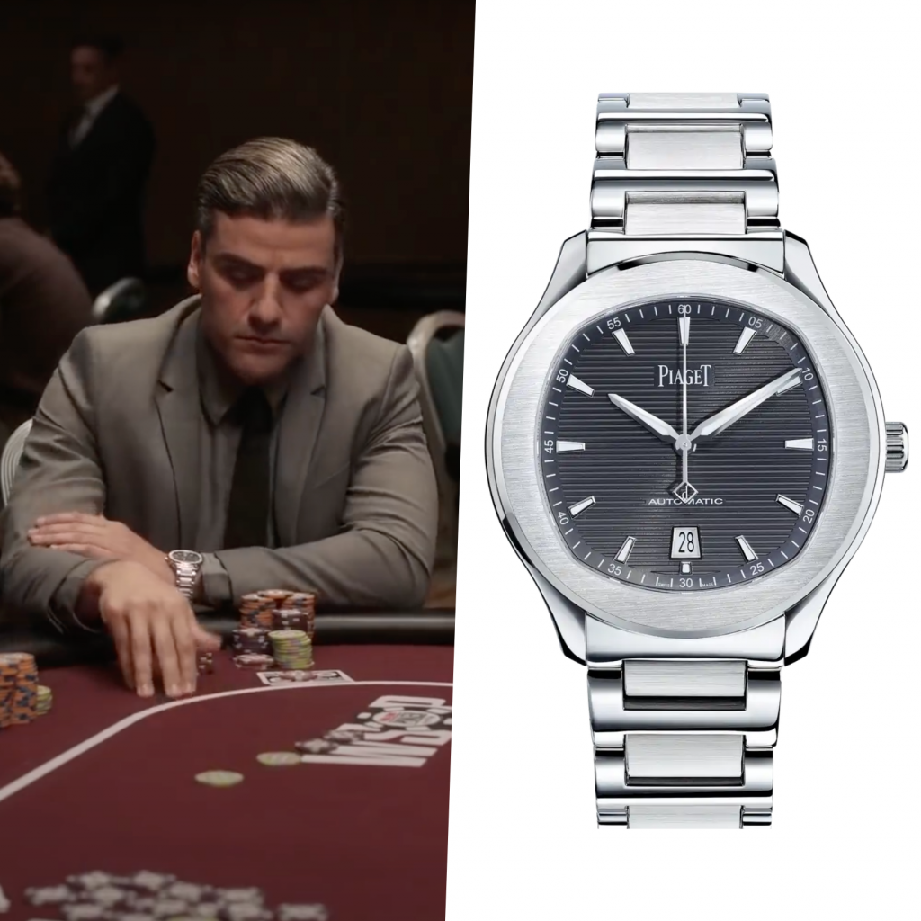 """Oscar Isaac sports a Piaget Polo S in upcoming film """"The Card Counter"""""""