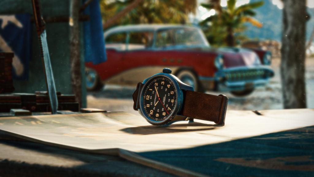 INTRODUCING: The Hamilton x Far Cry®6 Limited Edition Khaki Field Titanium