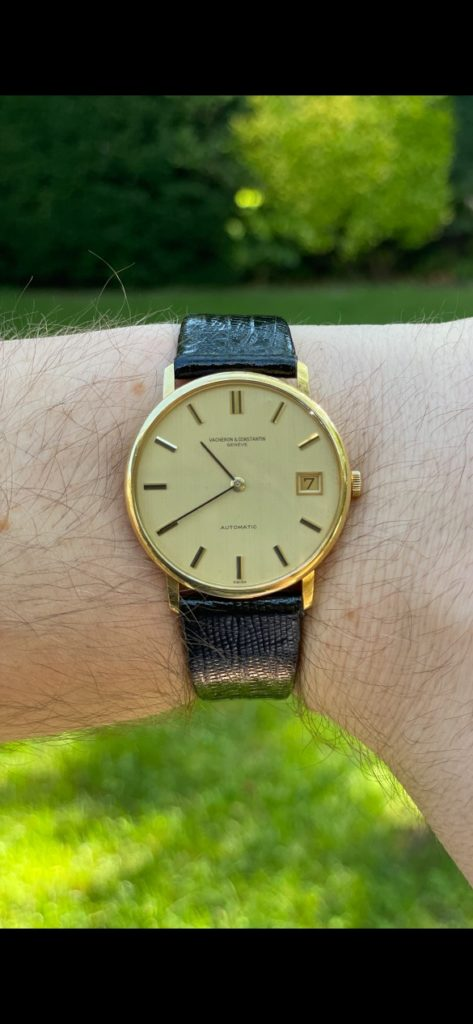 My grandfather's Vacheron Constantin was the antithesis of my taste in watches. And then I fell in love…
