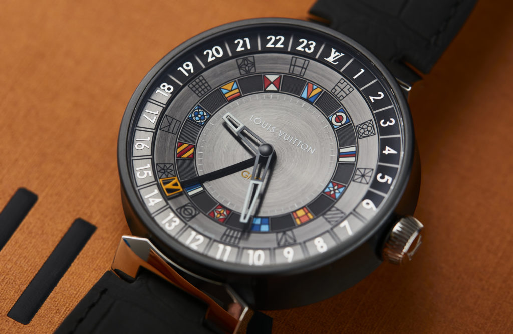 VIDEO: The Louis Vuitton Tambour Moon Dual Time reflects the brand's globetrotting spirit