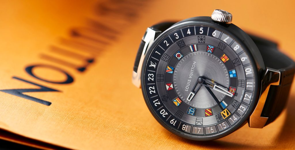 The Louis Vuitton Tambour Moon Dual Time is a GMT built to clock up serious air miles
