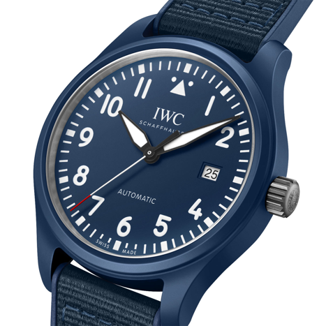 INTRODUCING: IWC's true blue special edition supports the Laureus Foundation