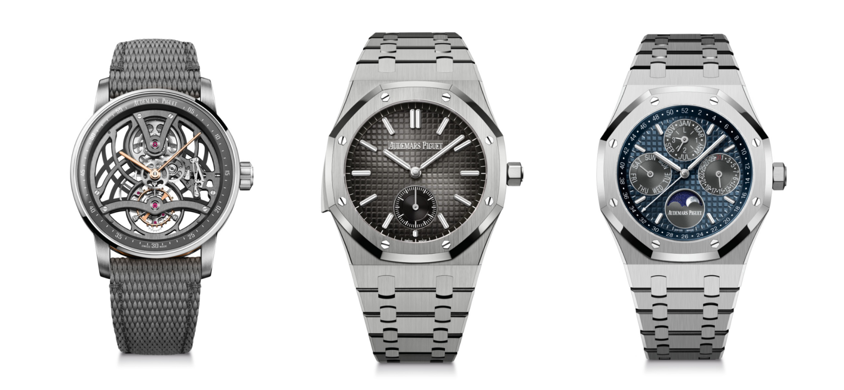 Audemars Piguet introduces three highly complicated pieces into the 2021 collection