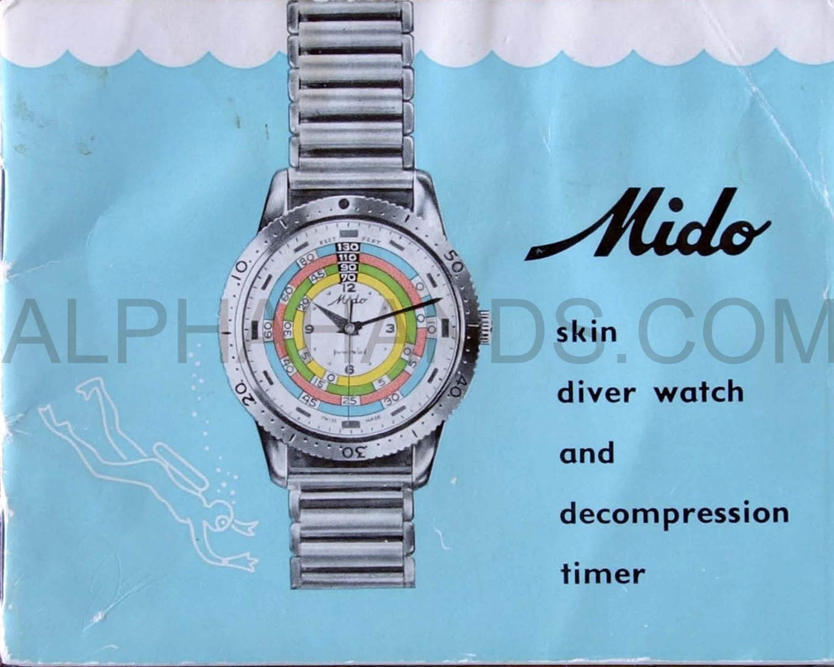 Mido Decompression Timer