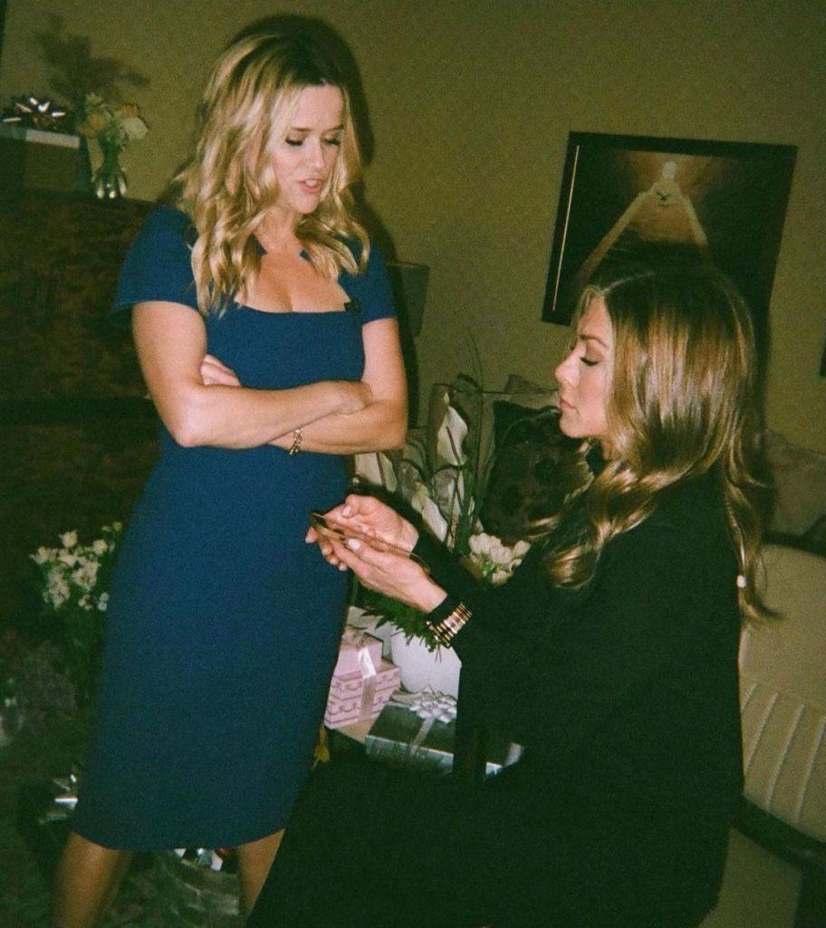 Jennifer Aniston wears a Chopard Alpine Eagle in the latest season of The Morning Show