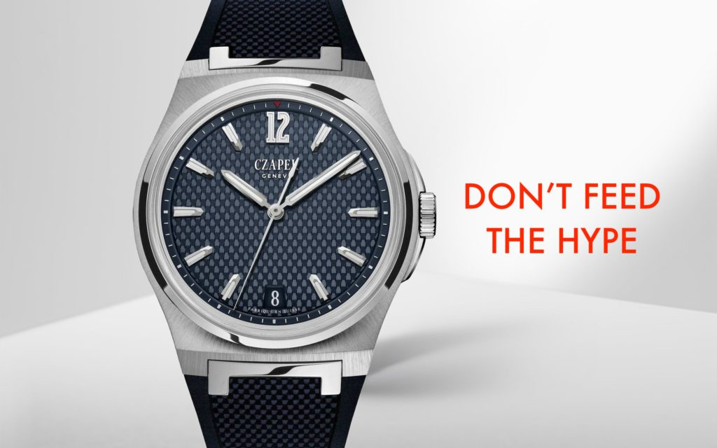 DON'T FEED THE HYPE: 3 alternatives to the Patek Philippe Aquanaut