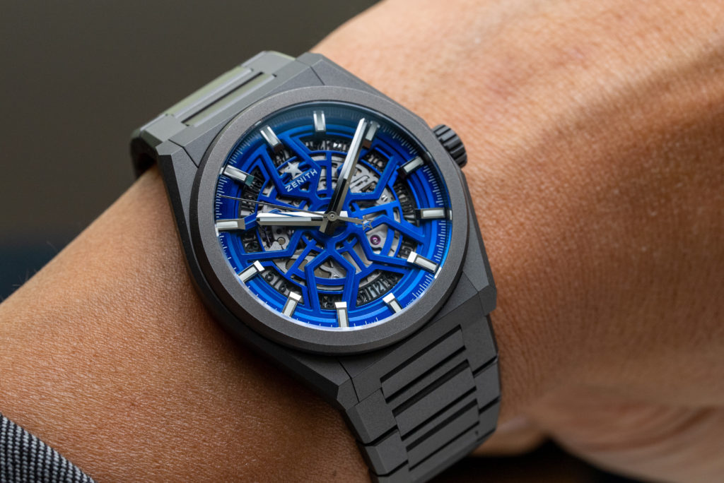 """INTRODUCING: The Zenith Defy Classic Skeleton """"Night Surfer"""" Time+Tide Edition"""