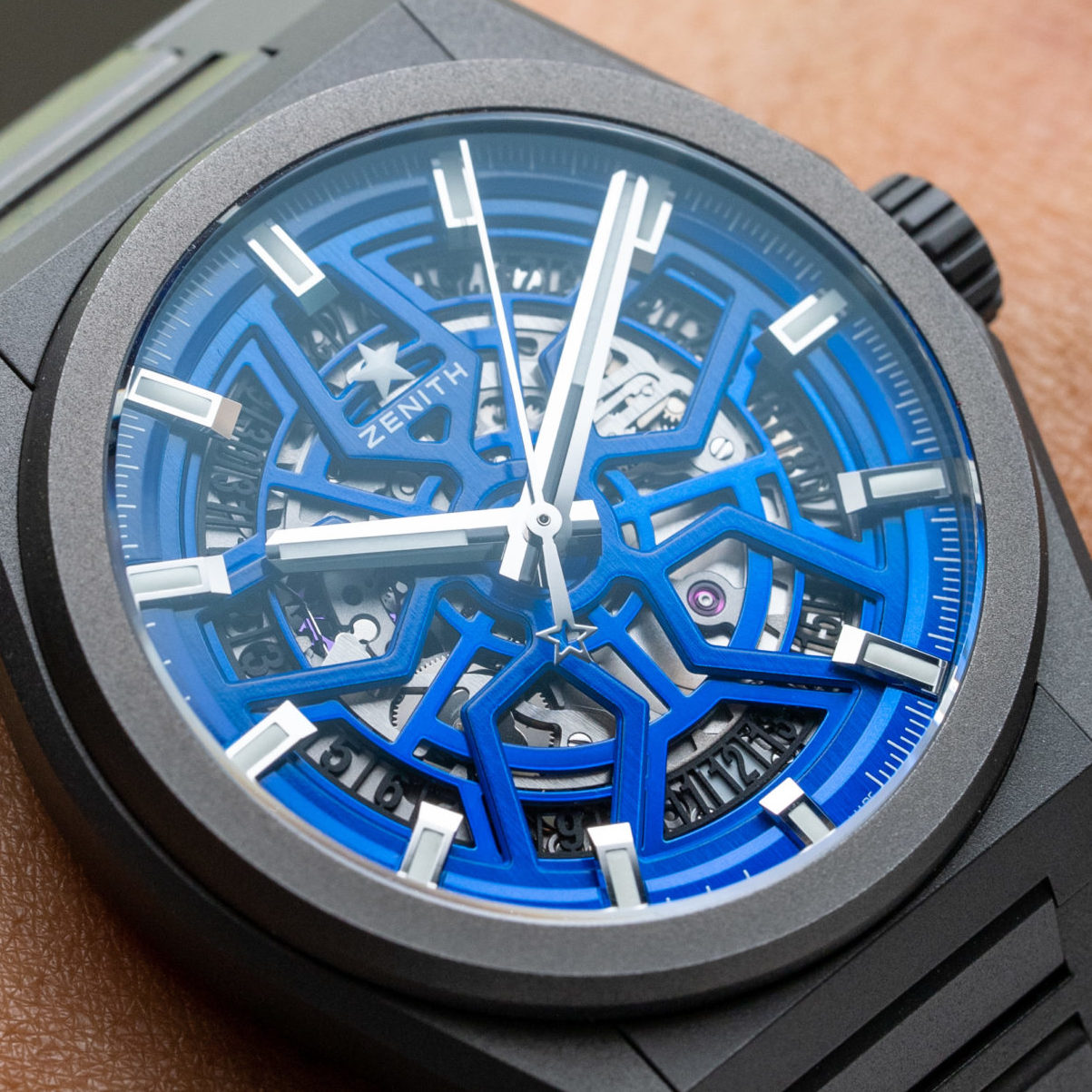 """HANDS-ON: The Zenith Defy Classic Skeleton """"Night Surfer"""" Time+Tide Edition marks five firsts for the collection"""
