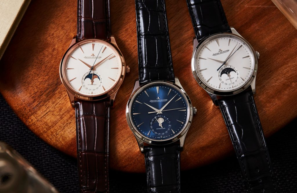 VIDEO: The Jaeger-LeCoultre Master Ultra Thin Moon collection expands with stunning dial variations