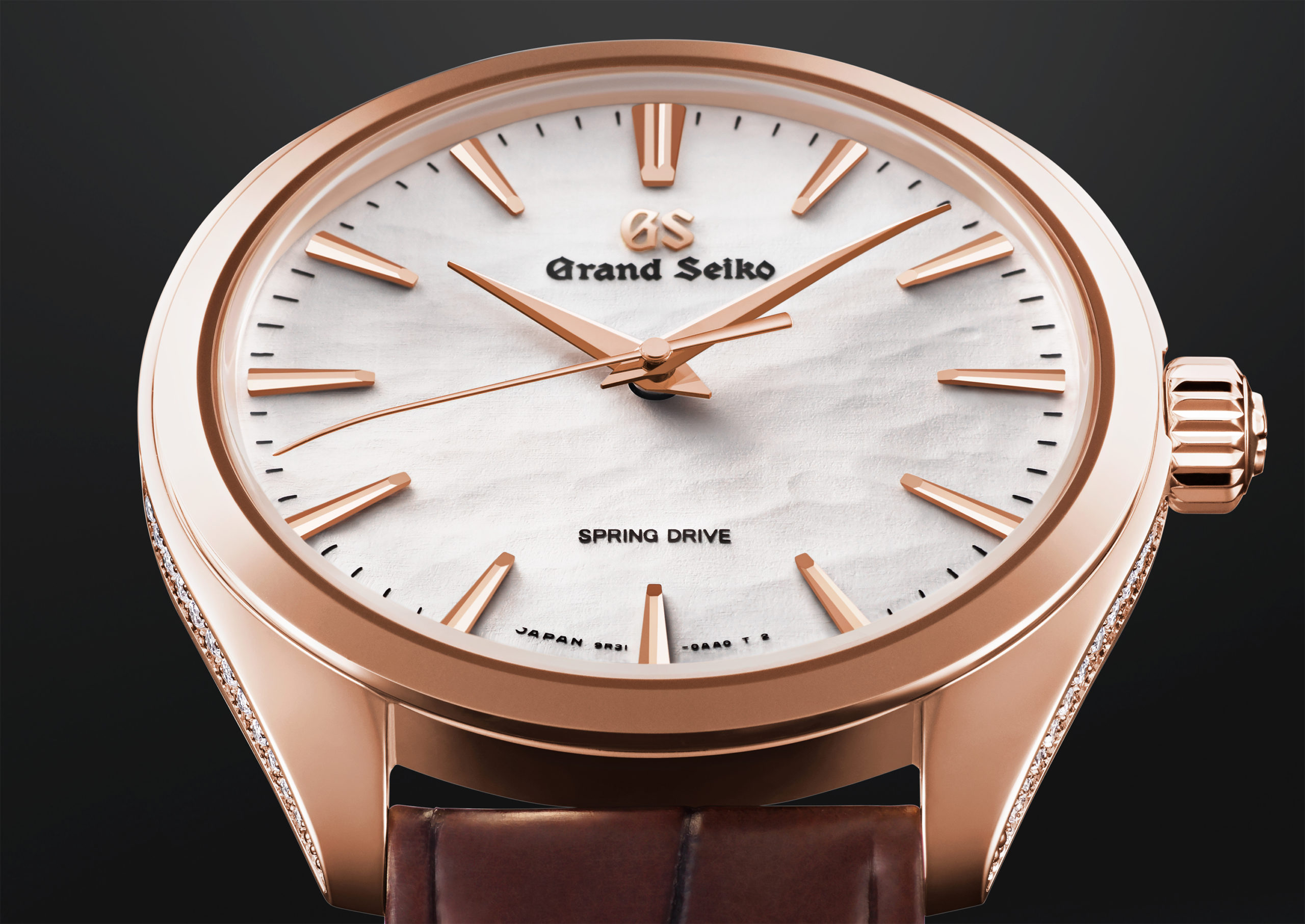 INTRODUCING: The Grand Seiko SBGY008 offers a subtle masterclass in the use of diamonds