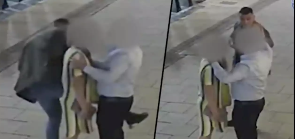 """VIDEO: Street thief uses """"bizarre dance"""" to steal woman's Rolex"""