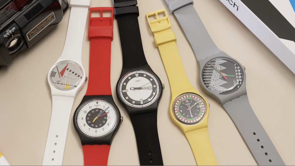 VIDEO: Relive the 80s with the Swatch BIOCERAMIC 1984 Reloaded Collection