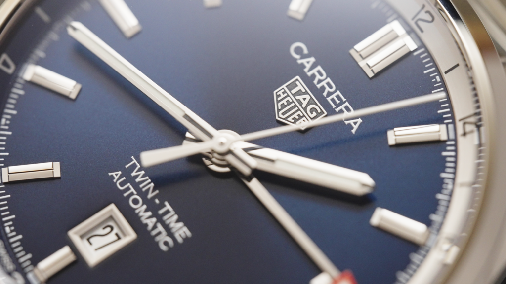 HANDS-ON: The TAG Heuer Carrera Twin-Time 41 is a clean, robust and sporty-elegant GMT