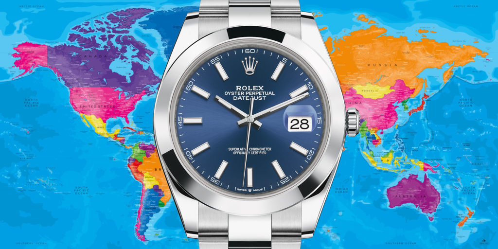 What are the most popular watch brands by region? WatchBox tells all…