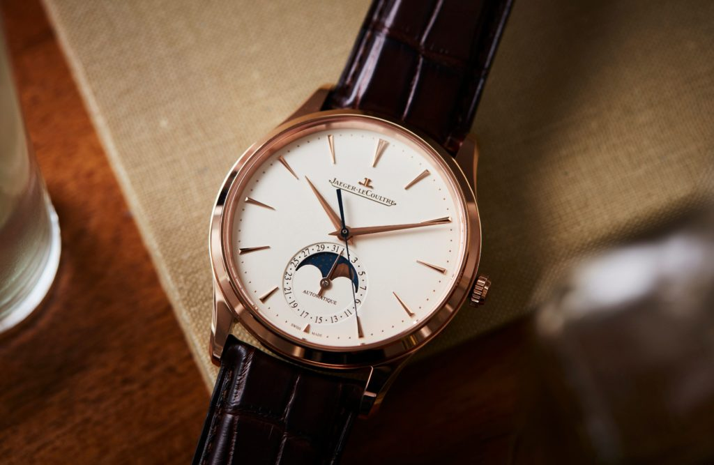 Hands On: Jaeger-LeCoultre Master Ultra Thin Moon in Pink Gold