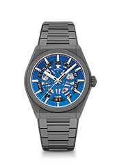 """Zenith Defy Classic Skeleton """"Night Surfer"""" Time+Tide Edition $9000USD/$12200AUD"""
